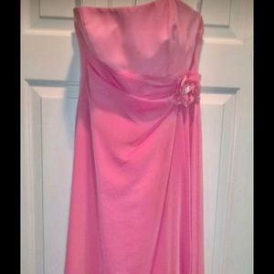 David's Bridal prom, bridesmaid or wedding dress.